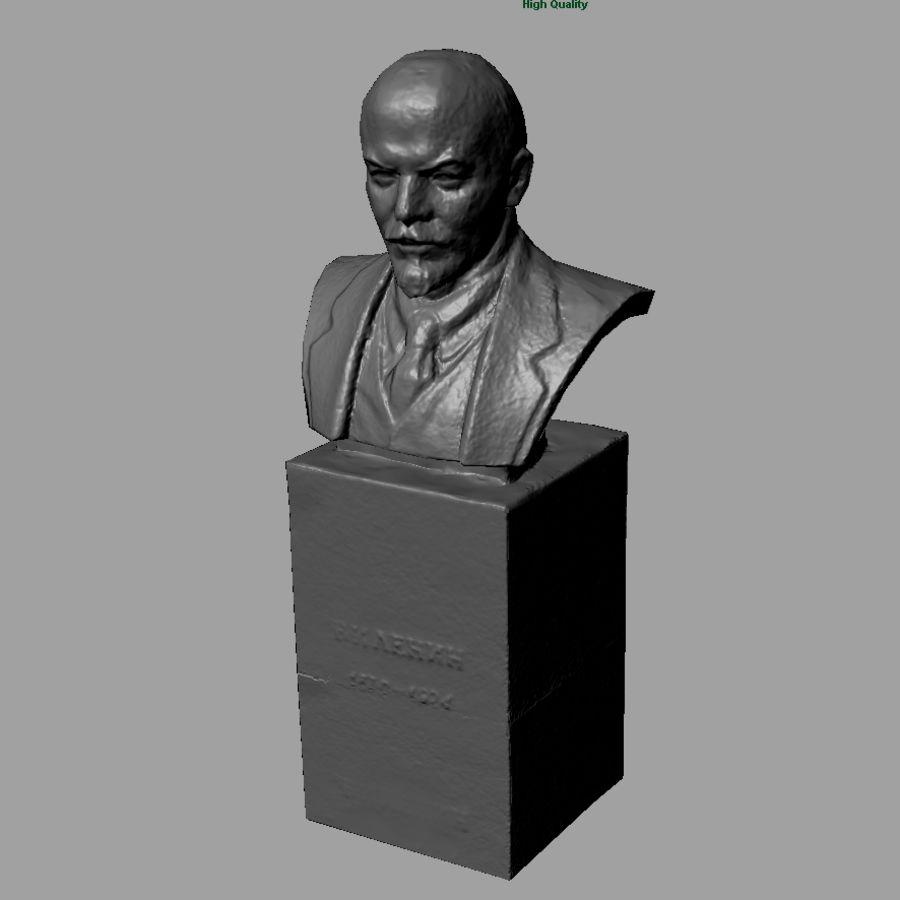 Vladimir Lenin royalty-free 3d model - Preview no. 6