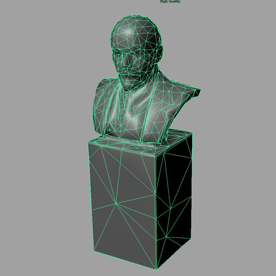 Vladimir Lenin royalty-free 3d model - Preview no. 4