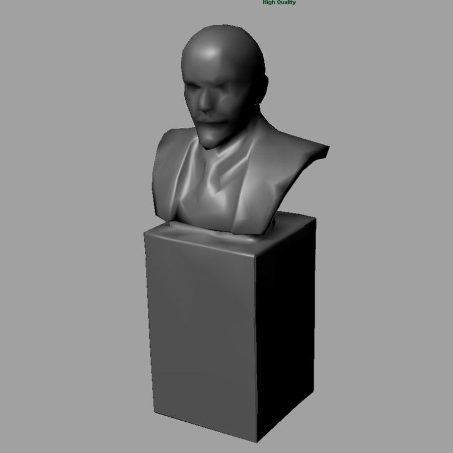 Vladimir Lenin royalty-free 3d model - Preview no. 5