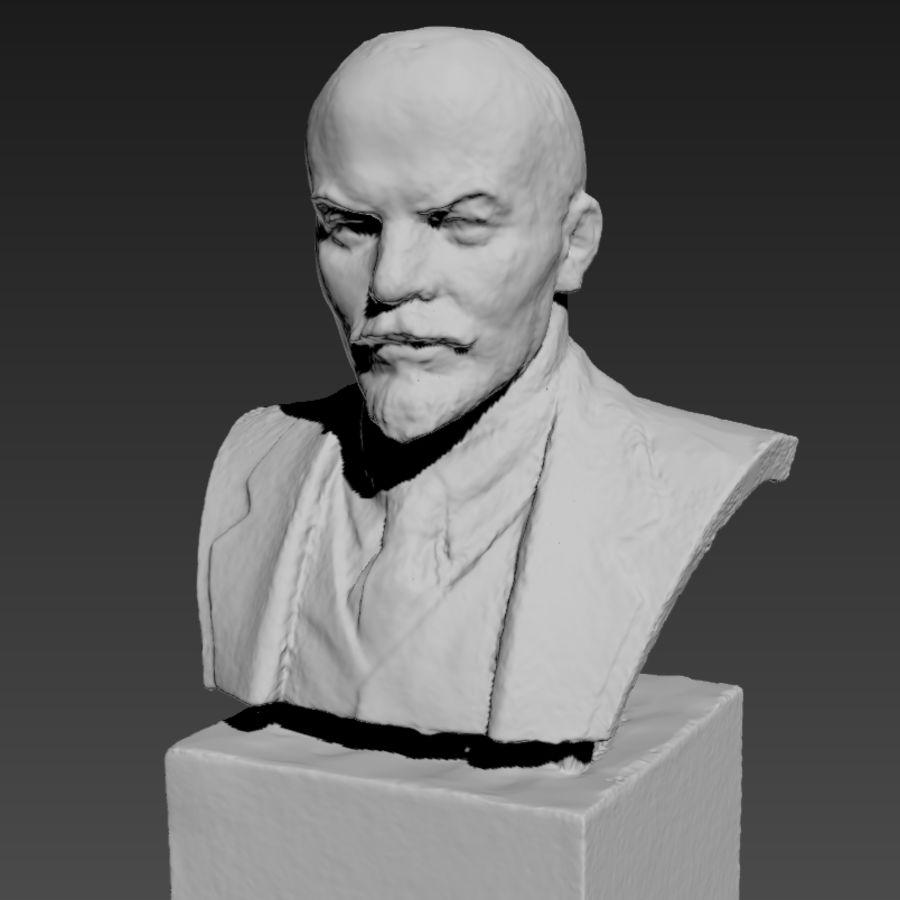 Vladimir Lenin royalty-free 3d model - Preview no. 10