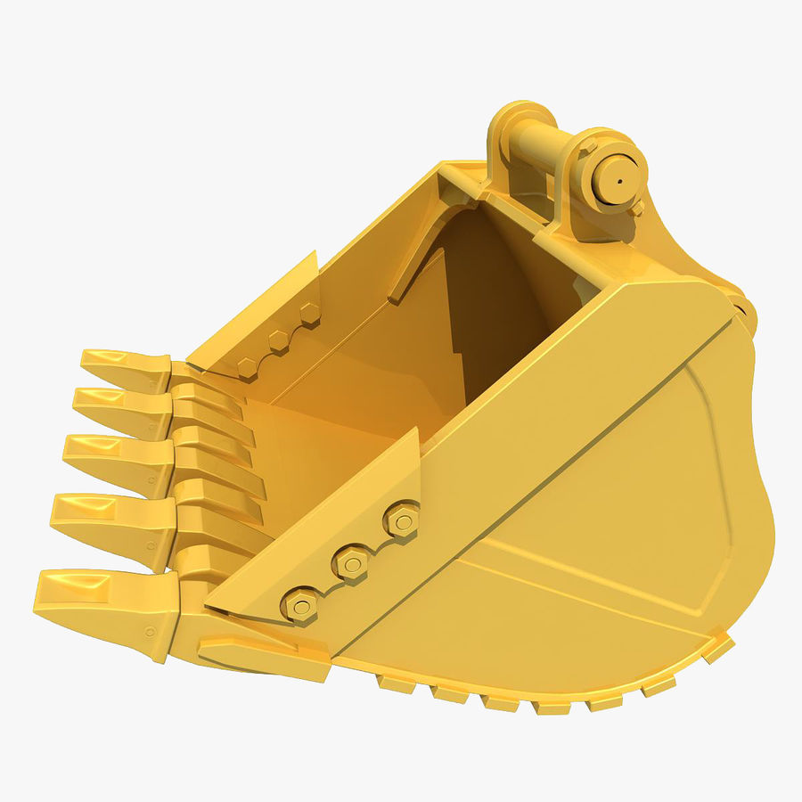 Excavator Bucket royalty-free 3d model - Preview no. 1