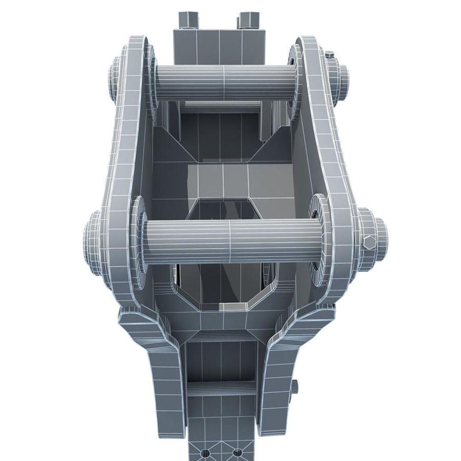 ショベルハンマー royalty-free 3d model - Preview no. 15