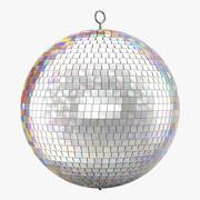 Disco Ball Rainbow 3d model