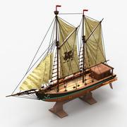 船のおもちゃ2 3d model
