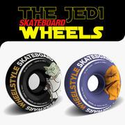 Las ruedas de skate FORCE modelo 3d