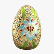 Золотое яйцо 3d model