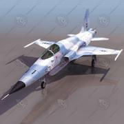 F5F Uçak 3d model