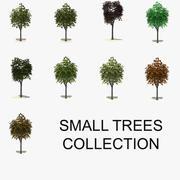Kleine Baumsammlung 3d model