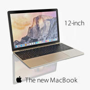 Nowy MacBook 3d model