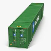 53 ft Wysyłka Kontener ISO Zielony model 3D 3d model