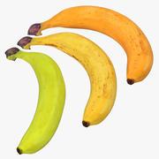 바나나 3D 모델 컬렉션 3d model