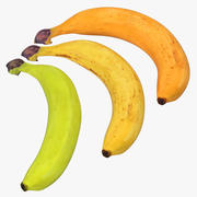 Bananas 3D Models Collection 3d model