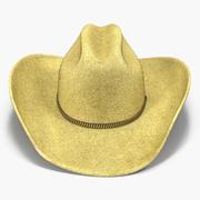 Cowboy Hat 3 3D Model 3d model