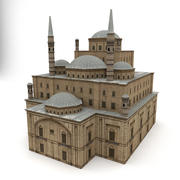 Mezquita modelo 3d