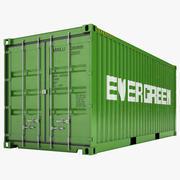 Contentor de carga 03 3d model