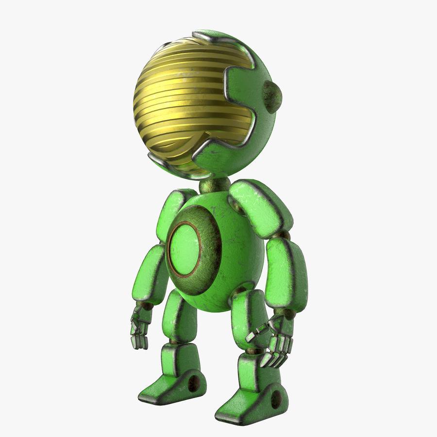 Robot Mario royalty-free 3d model - Preview no. 3
