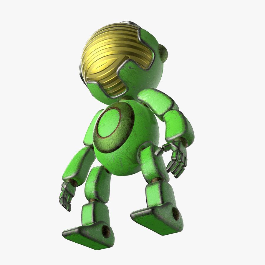 Robot Mario royalty-free 3d model - Preview no. 5