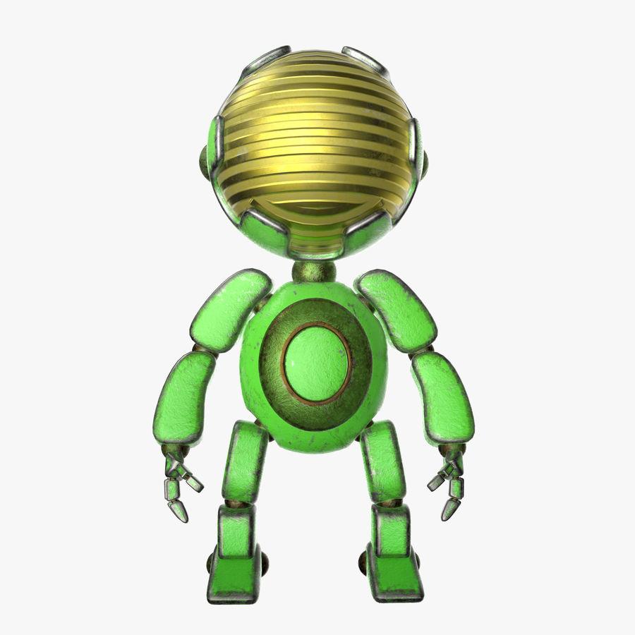 Robot Mario royalty-free 3d model - Preview no. 2