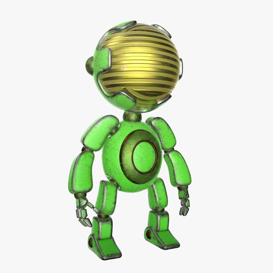 Robot Mario royalty-free 3d model - Preview no. 1