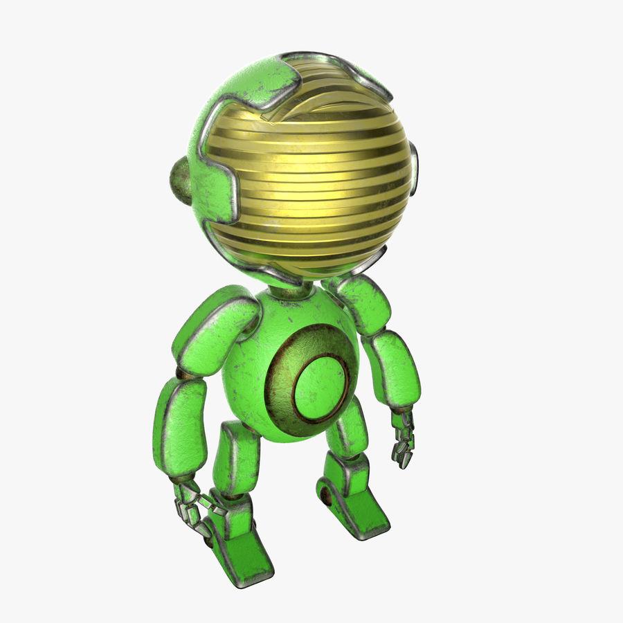 Robot Mario royalty-free 3d model - Preview no. 4