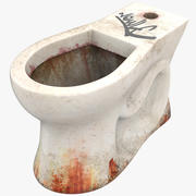 Dirty Toilet 3d model