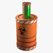 Sci Fi Barrel 2 3d model