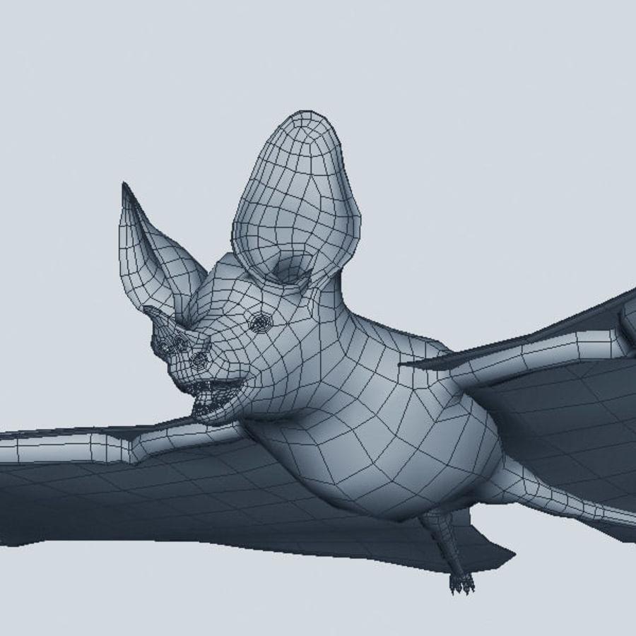 Fledermaus-Vampir royalty-free 3d model - Preview no. 8