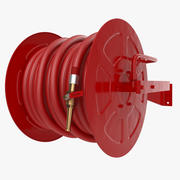 Fire Hose Reel 3d model