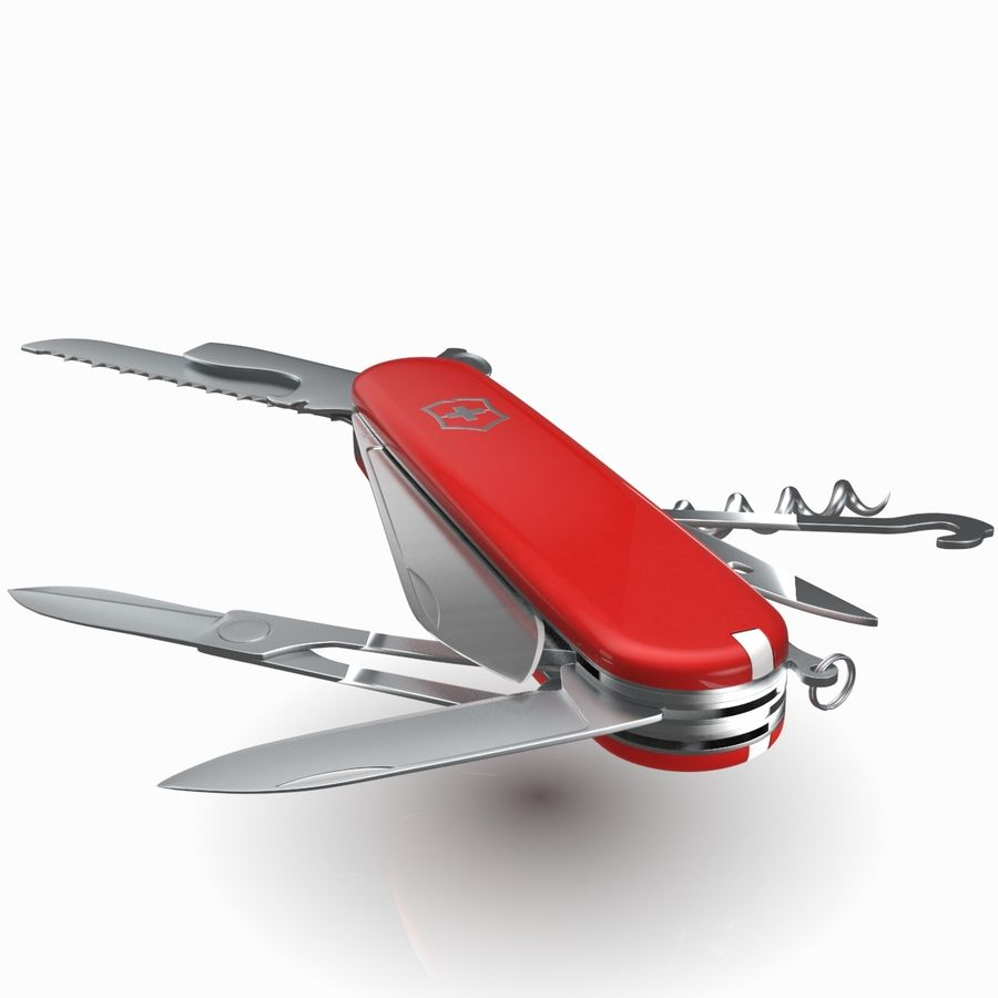 Victorinox Swiss Army Knive royalty-free 3d model - Preview no. 8