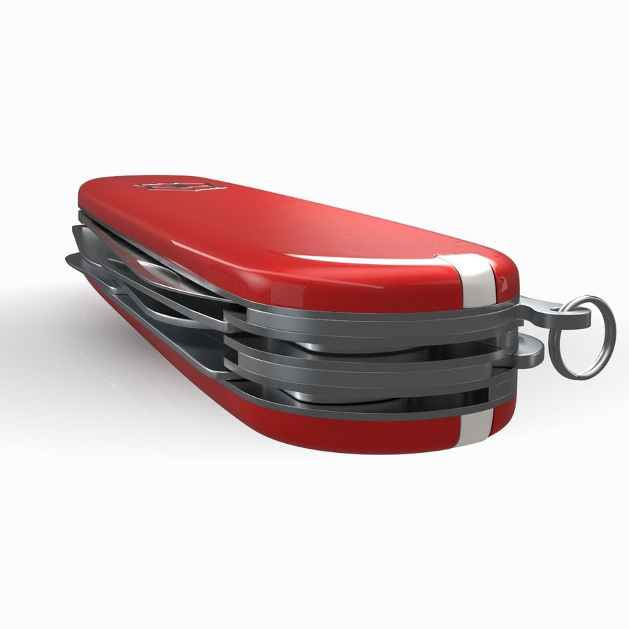 Victorinox Swiss Army Knive royalty-free 3d model - Preview no. 4