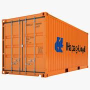 Contentor de carga 08 3d model