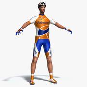 자전거 타는 사람 3d model