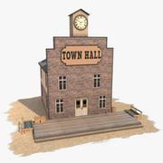 Prefeitura do Edifício Oeste 11 3d model