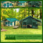 Tents and Camping Pack 3d model