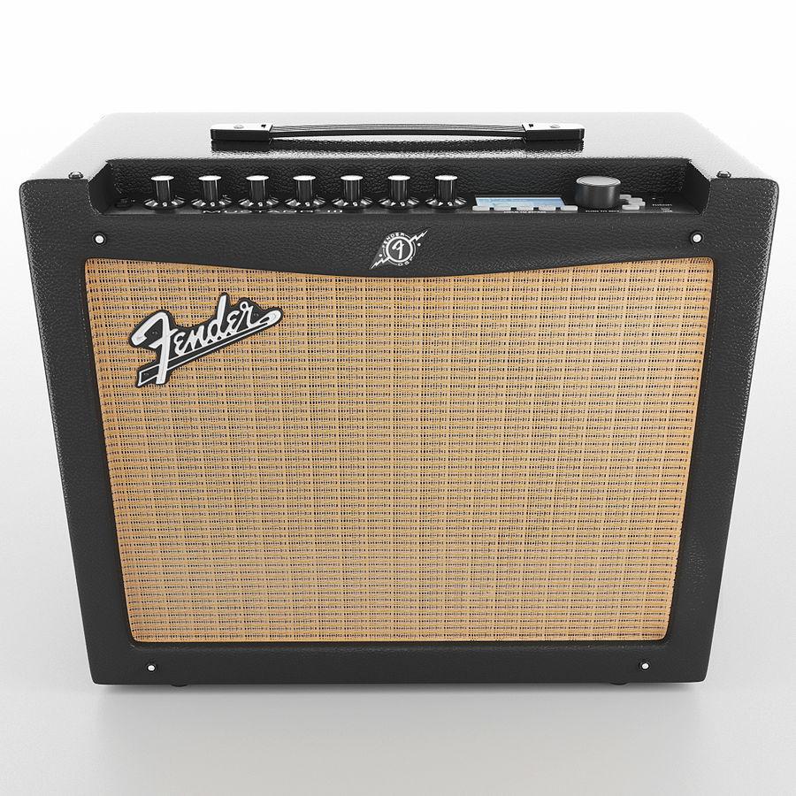Förstärkare Fender royalty-free 3d model - Preview no. 8