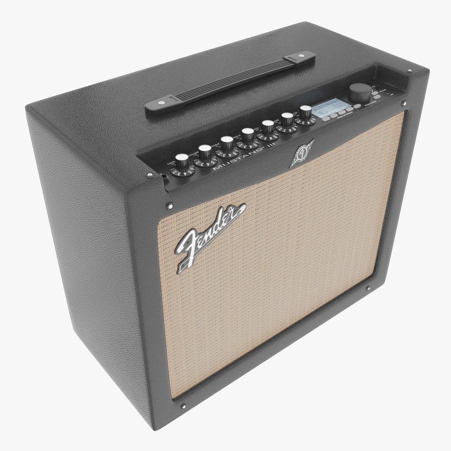 Förstärkare Fender royalty-free 3d model - Preview no. 1