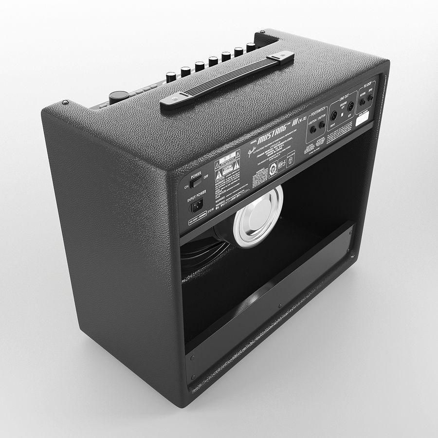Förstärkare Fender royalty-free 3d model - Preview no. 6
