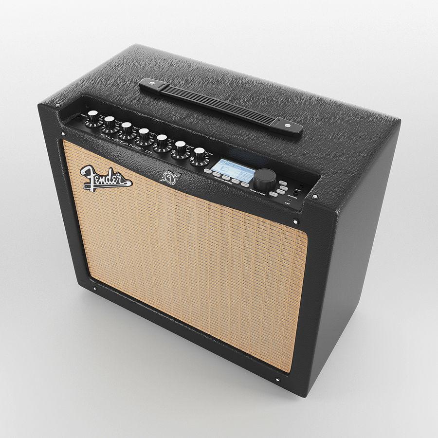 Förstärkare Fender royalty-free 3d model - Preview no. 7