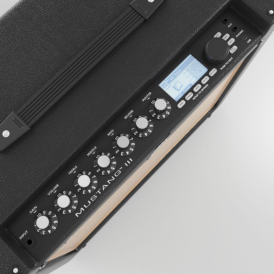 Förstärkare Fender royalty-free 3d model - Preview no. 5