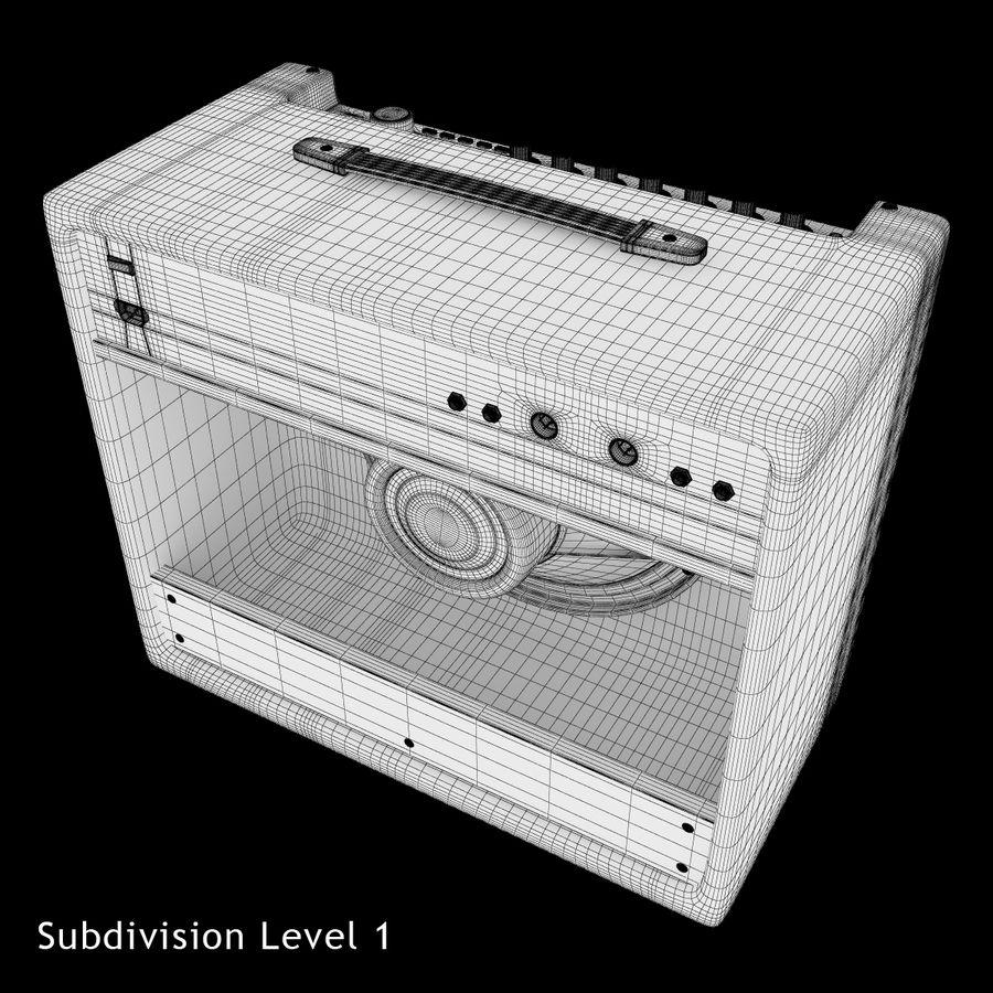 Förstärkare Fender royalty-free 3d model - Preview no. 12