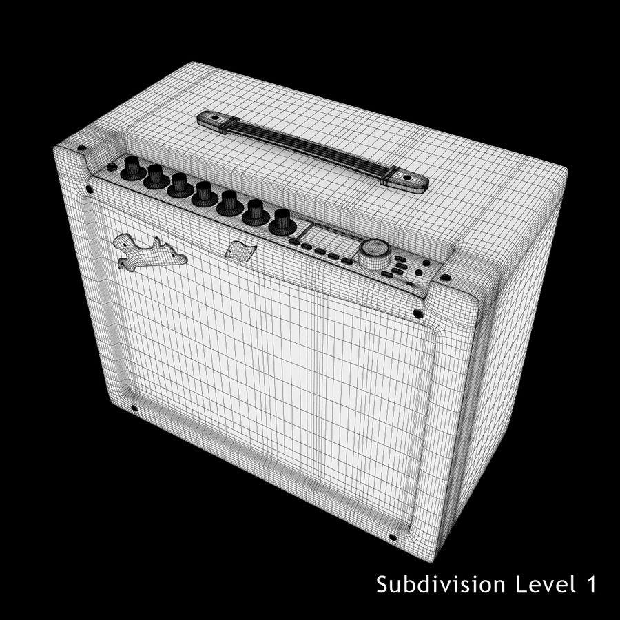 Förstärkare Fender royalty-free 3d model - Preview no. 18