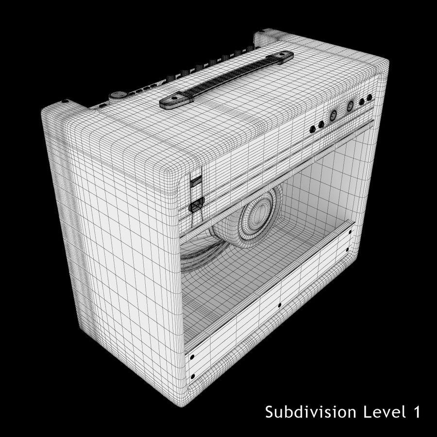 Förstärkare Fender royalty-free 3d model - Preview no. 16