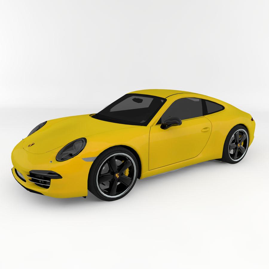 Porsche 911 royalty-free 3d model - Preview no. 1