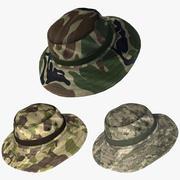 Военная шляпа Boonie 3d model