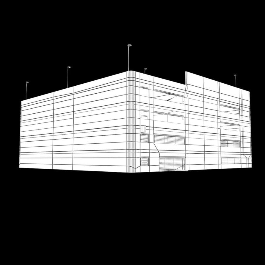 駐車場 royalty-free 3d model - Preview no. 9