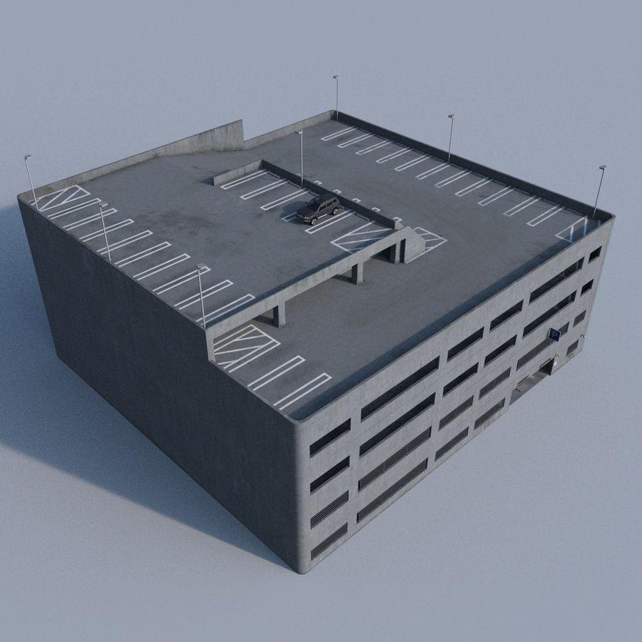 駐車場 royalty-free 3d model - Preview no. 1