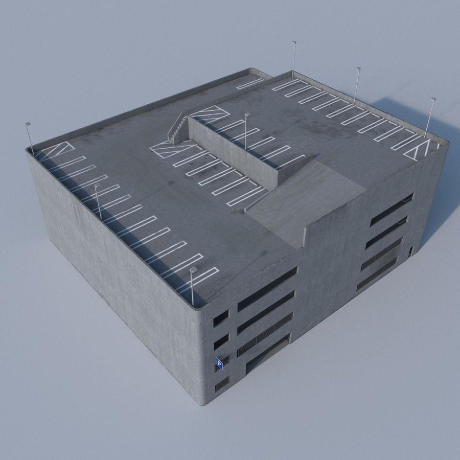 駐車場 royalty-free 3d model - Preview no. 6
