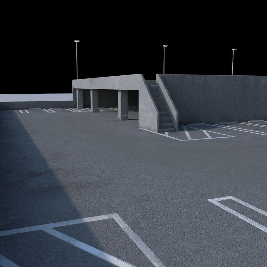 駐車場 royalty-free 3d model - Preview no. 8