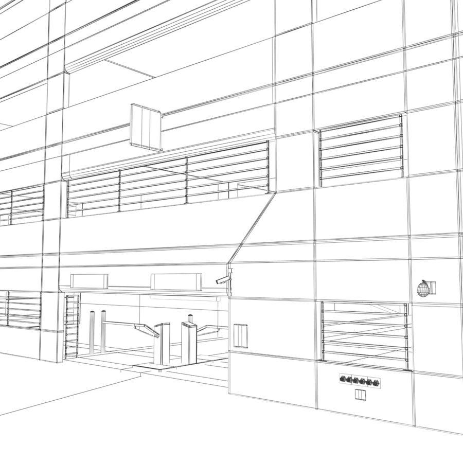 駐車場 royalty-free 3d model - Preview no. 12