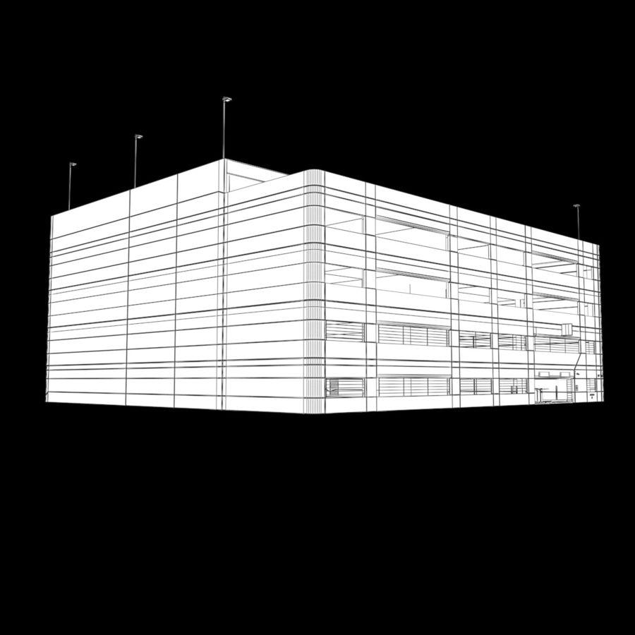 駐車場 royalty-free 3d model - Preview no. 11
